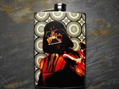 Star Wars Decorated 8oz. Flask - FN190