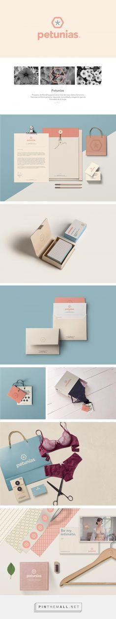Petunias Lingerie Branding by Juli Gutierrez | Fivestar Branding Agency – Design and Branding Agency & Curated Inspiration Gallery  #fivestarbrandingagency #lingeriebranding #branding #designinspiration