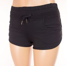 LULULEMON Shorts 2 XS Extra Small Black Run Yoga #Lululemon #Shorts