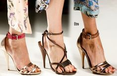 Milan Fashion Week Spring 2014 Shoes trends part 2
