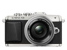 Olympus E-PL7 1442EZ Pancake – Cámara EVIL de 16.1 Mp (pantalla 3″, estabilizador, vídeo Full HD, WiFi), color plateado – Kit cuerpo cámara con objetivo 14-42 mm electrónico motorizado | Your #1 Source for Camera, Photo & Video