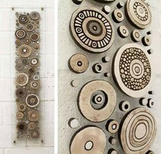 "Tori Seyd; Ceramic, 2011, Sculpture ""untitled"". Appeals to my love of circles!:"