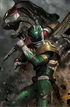 Green Ranger is finally here.