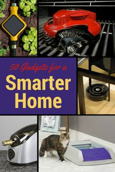50 Great Gadgets for a Smarter Home. Take a look to see some of our favorite picks for a smarter home. gadgets home tech technology mobile Entertainment wifi kitchen bedroom tv hifi smart computer online Technology Hacks, Mobile Technology, Home Technology, Latest Electronic Gadgets, Electronics Gadgets, Tech Gadgets, Computer Online, Tv In Bedroom, Docking Station