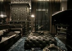"THE DARK NIGHT  Private Residence Inspiration : ""The Dark Night"" Location : Thonglor 4, Bangkok, Thailand Scope of Work : Conceptual Design, Interior Design, Props Styling Area : 120 Sq.m. Period : 2013"