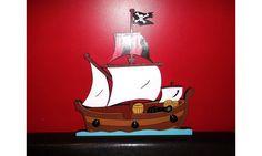Porte manteaux bateau pirate