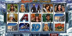In Girls and Guns: Frozen Dawn slot, when a winning combination builds on any paylines, the combinations will personified in Microgaming's renowned animated free spins with graphical clips of one of the girls performing her thing.