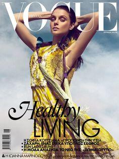 Jessica Stam – Vogue Hellas June 2012