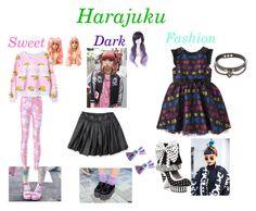 """Harajuku"" by amberzxxx on Polyvore featuring moda y Irregular Choice"