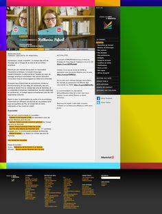 Site du Conseil des arts de Montréal réalisé en 2010. Pour lier public et artistes, un blogue de recommandations sur les arts montréalais a été mis en place, tenu par les personnalités emblématiques des divers organismes subventionnés par le Conseil.  L'habillage du site est composé des couleurs récemment achetées par des citoyens. https://www.artsmontreal.org/