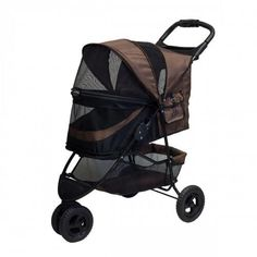 Special Edition Chocolate No Zip Dog Stroller – Bark Label