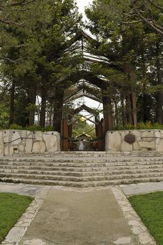 Wayfarers Chapel in Palos Verde California..... The most beautiful chapel in the world!!!!!