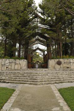 Wayfarers Chapel in Palos Verde California..... The most beautiful chapel in the world!!!!!