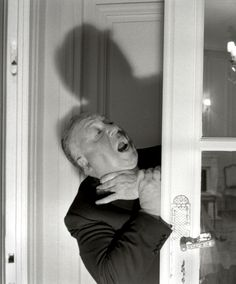 "Alfred Hitchcock, ""The Master of Suspense"" in 1955."