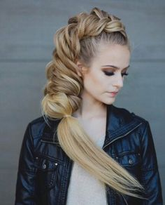 Lobe this updo braid