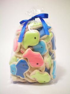 mini fish cookies
