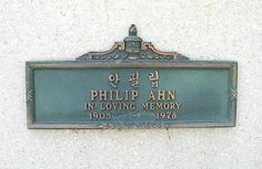 """Philip Ahn (1905 - 1978) Korean-American actor who played many small parts in movies and TV from the 1930s onward, perhaps best remembered as Master Kan in the TV series """"Kung Fu"""""""