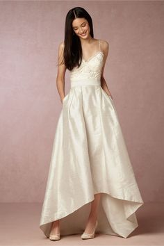 BHLDN Bellamy Skirt in  Bride at BHLDN $950
