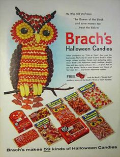 Halloween candy...I think I remember this one in a magazine...