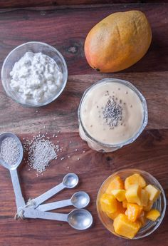 This Protein-Packed Mango Lassi Smoothie Will Be Your New Favorite Drink