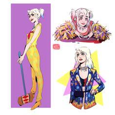 birds of prey Joker And Harley Quinn, Hearly Quinn, Harley Quinn Drawing, Margot Robbie Harley Quinn, Gotham Girls, Dc Heroes, Birds Of Prey, Gotham City, Fan Art