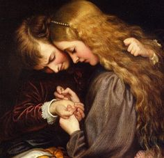 Charles West Cope    The Thorn