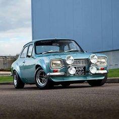 Classic Cars British, Ford Classic Cars, British Car, British Sports, Escort Mk1, Ford Escort, Ford Rs, Car Ford, Auto Ford
