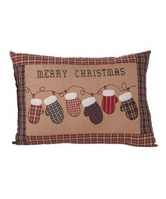 Christmas pillow.