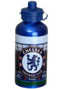 Chelsea Fc Drinks Bottle - Aluminium - Football Gifts by Chelsea. $19.38. Football Equipment. Official Chelsea FC Drinks Bottle - Aluminium. Features the official team crest. Drinks Bottles. Official football merchandise. Chelsea F.C. 500Ml Alluminium Drinks Bottle Stadium Design Official Licensed Product