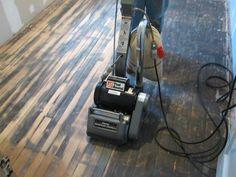 Romancing the Floor – Saving and Restoring Old Hardwood « Home Improvement Stack… Home Improvement Loans, Home Improvement Projects, Home Projects, Home Design, Home Renovation, Home Remodeling, Basement Renovations, Basement Designs, Bathroom Remodeling