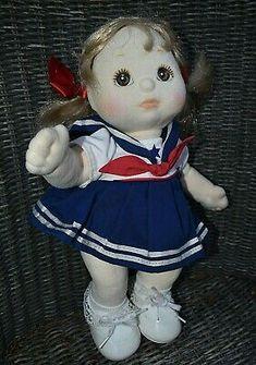My Child Doll, Mattel Girl in Sailor Dress 1985 | eBay Costume Marin, Sailor Dress, Child Doll, Harajuku, Bear, Dolls, Vintage, Children, Character