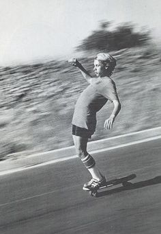 Yep. I had those socks. I used to grab onto trucks to ride my skateboard down long hills.