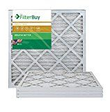 AFB Gold MERV 11 20x22x1 Pleated AC Furnace Air Filter. Pack of 4 Filters. 100% produced in the USA.