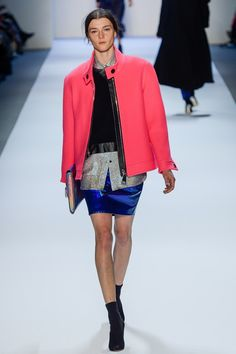 Loving the colour clash! at MILLY   #NYFW #MILLY #MILLYMOMENT