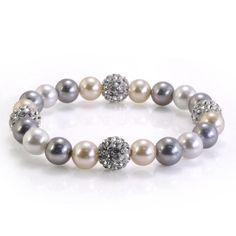 Look like Picasso's inspiration in this romantic bracelet.