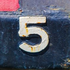 #5 #number #sign #signage #type #typography