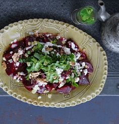 Rote Beete Feta Salat