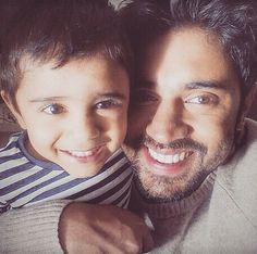 Nivin pauly with his adorable son ..Daveed