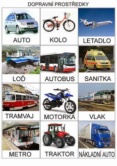 Dopravni prostredky, znacky aut