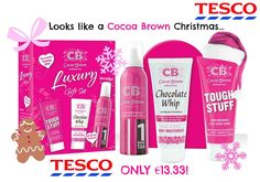 Cocoa Brown Luxury Gift Set now ONLY €13.33 in Tesco!
