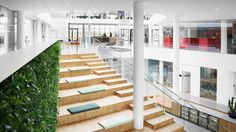 Arla Innovation Center - Arla Foods has inaugurated a multi-million euro innovation centre in Denmark that will allow it to 'put innovation at the centre of its growth plans for the next decade'. Innovation Centre, Denmark, Euro, Stairs, Foods, How To Plan, Projects, Home Decor, Food Food