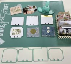 Project Ideas for Heidi Swapp - Wanderlust Collection - Memorydex - Cards - Gold…