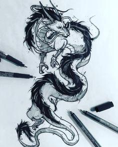 Great few drawings by Miyazaki bs Studio SA Tattoo . - Great few drawings by Miyazaki bs Studio SA Tattoo tattoo … -… - Tattoos Motive, Body Art Tattoos, Cool Tattoos, Ghibli Tattoo, Tattoo Sketches, Tattoo Drawings, Art Sketches, Tattoo Ink, Gold Tattoo