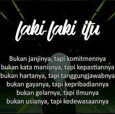 Bukan Janji Tapi Komitmen Dan Kedewasaan Indonesia Puisi
