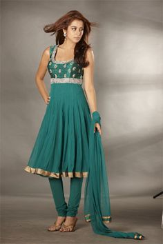 Indian outfit - pretty color and cut
