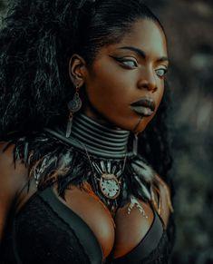 Black Characters, Fantasy Characters, Female Characters, Witch Aesthetic, Black Girl Aesthetic, Character Inspiration, Character Art, Character Design, Black Goth