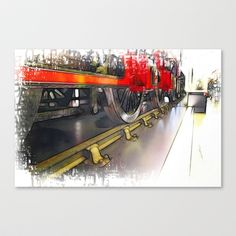 Training Day  Stretched Canvas by F Photography and Digital Art - $85.00
