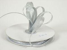 Ribbon - Silver - Metallic Ribbon