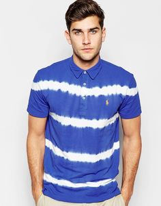 e7ce6aaf3 Polo Ralph Lauren Polo Shirt with Tie Dye Regular Fit at asos.com