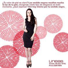 El gran vestido negro.  #Lineas #outfit #moda #tendencias #2014 #ropa #prendas #estilo #primavera #outfit #vestido #negro